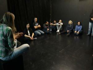 """Συνεργασία του θεάτρου με το 1ου Εσπερινό ΕΠΑΛ Ξάνθηςστα πλαίσια της δράσης """"Ποτέ Δεν Είναι Αργά… Για Μια Νέα Αρχή'"""