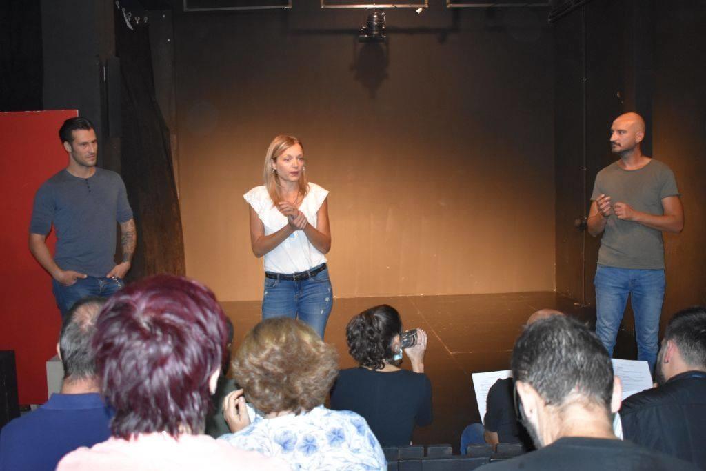 Ξεκινούν τα τμήματα ενηλίκων στο θεατρικό εργαστήρι. Πρόγραμμα μαθημάτων